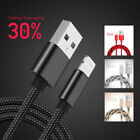 Fast Charging Braid Cable Sync Data Charger For iPhone SE 5S 6 6S 7 Plus