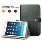 Real Genuine Luxury Leathe STAND CASE COVER For Amazon Kindle Fire 7 inch Tablet