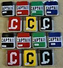 Captains Armband Football, Rugby, Hockey. Adult Senior & Junior Kids Precision