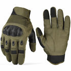 Touchscreen Tactical Cycling Motorcycle Combat Hard Knuckle Full Finger Gloves r
