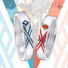 anime couple sleeping - Anime DARLING in the FRANXX ZERO TWO 002 HIRO 016 Couple Rings COS Lovers Ring
