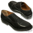 RAF BRITISH ARMY STYLE PARADE SHOE CADET MILITARY STICHED TOE CAP