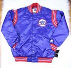 Winnipeg Jets STARTER Retro Satin Snap Jacket Throwback Logo 3XL 4XL NHL $59.99 USD on eBay