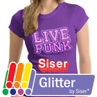 Siser Glitter HTV Heat Transfer Vinyl for T-Shirts 20' by 12' Sheet(s)