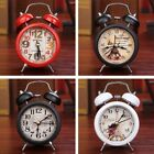 Retro Classic LED Double Twin Bell Mechanical Alarm Bedside Night Light Clock