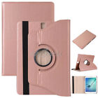 For Samsung Galaxy Tab 2/3/4 E A S2 7~10.1 360 Rotating Leather Cover Case +Gift