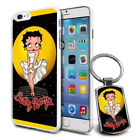 Betty Boop Design Hard Case Cover & Free Keyring For Various Mobiles - 21 £5.9 GBP on eBay
