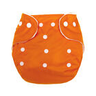 Washable Reusable Snap Button Leakproof Mesh Baby Diapers Cloth Diaper Nappies W