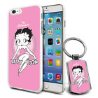 Betty Boop Design Hard Case Cover & Free Keyring For Various Mobiles - 09 $9.46 AUD on eBay