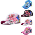 Womens Fashion Golf Sports Hat Baseball Cap Floral Butterfly Embroidered Sun Hot