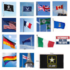 HOT! 3'x5' FT World Country National Polyester USA Canada UK AU Germany Flags
