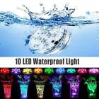 Underwater 10 LED Glow Light Show Swimming Floating Colorful for Pool Spa Pond $10.76 USD on eBay