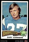 1975 Topps #230 Gary Garrison Chargers VG/EX $0.99 USD on eBay