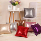 Colorful Square Glitter Sequins Throw Pillow Case Cafe Home Decor Cushion Covers