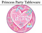 Pink Princess Party Tableware - Plates, Napkins, Cups & Tablecover
