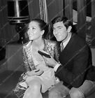 8b20-14069 candid Diana Rigg George Lazenby film On Her Majesty's Secret Service $19.99 USD on eBay