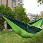 Double Person Travel Camping Nylon Fabric Parachute Sleep Hammock E&F
