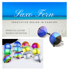 Round sunglasses flash edition - Free case included