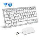 NEW Bluetooth Keyboard and Wireless 2.4G Mouse Combo for PC Windows Laptop MAC