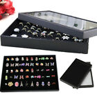 100 Holes Earring Ring Jewellery Display Storage Box Tray Case Holder Organiser