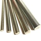 M10 / 10mm A4 MARINE STAINLESS STEEL Threaded Bar - Rod Studding Studs