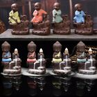 Внешний вид - Ceramic Little Monk Smoke Backflow Cone Censer Holder Incense Burner Decoration