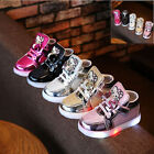 Kids Baby Girls Boys Toddler Shoes Light Up Shoes LED Flashing Trainers Sneakers <br/> DHL/ High Quality/ 100% Money Back Guarantee/ Gift