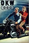 DKW MOTORCYCLING  VINTAGE RETRO  METAL TIN SIGN POSTER WALL PLAQUE