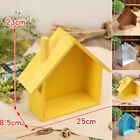 House Shaped Floating Wall Shelf Display Wood Shelves Storage Home Decor