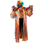 RAINBOW PRIDE COSTUME COAT WIG GLASSES FEATHER BOA BRACES GAY PRIDE FANCY DRESS