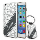Personalised Marble Design Phone Case Cover & Keyring for Various Phones - 250