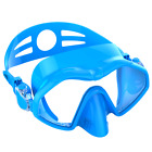 Soft Silicone Dive Mask Snorkeling Mirror Lens Gear Glasses Scuba Wide Vision