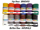 Waxed Thread 4 oz Spool Basketry Gourd Art Beading Jewelry Leather Craft  more