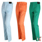 New Mens Nylon Spandex Golf Trousers Comfortable Pants