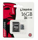 Kingston 8GB 16GB 32GB MicroSD Micro SD Class 4 C4 Karte Card SPEICHERKARTE JUN