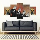 Great Dane Print-5 Piece Framed Canvas- Free Shipping