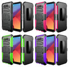 Hybrid Case with Kickstand and Swivel Clip Holster for Samsung Galaxy S8 Active