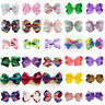 Kid's Unicorn-pattern JoJo Big Bow Clip Gems Girls Bowknot Hair Bow Accessories