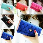 Women Leather Wallet PU Lady Purse Card Holder Clutch Long Handbag Bag US STOCK image