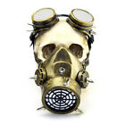 Gothic Steampunk Goggles Sunglasses Face Mask For Cosplay Men Motorcycle