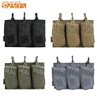 Double Magazine Pouch Tactical Molle Mag Bag Military Hunting Nylon Camouflage