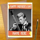 DAVID BOWIE Personalised Mother's / Father's Day Card - mum dad mothers fathers