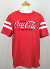 Coca-Cola T-shirt Coke Drink in Bottles Graphic Tee Red with White Stripes NWT $13.99  on eBay