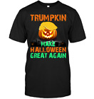 Trumpkin Make Halloween Great Again Funny Trump Black T-Shirt