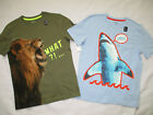 Внешний вид - NWT Gap Kids Boy's Tiger Shark Graphic Shirt Lot of 2 Size XL(12), XXL(13)