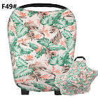 Stretchy Camouflage Baby Car Seat Cover Multi-Use Nursing Breastfeeding Scarf