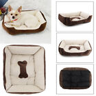 Dog Pet Bed Cushion Cat Basket Large Medium Small Puppy Mat House Washable Beige