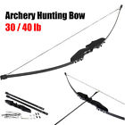 "Внешний вид - 54"" 30/40 lbs Archery Hunting Recurve Bow Shooting Longbow Takedown Right Handed"