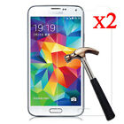 For Samsung Galaxy S9 8 7 6 5 Tempered Glass Protective Screen Protector Film 2X