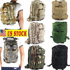 30L Military Tactical Molle Backpack 3P Camping Traveling Sports Bag US STOCK!
